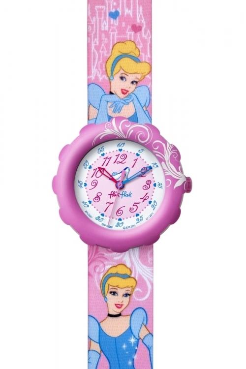 flik flak disney princess cinderella watch fls027