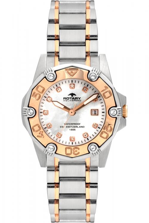 Image of            Ladies Rotary Aquaspeed Watch