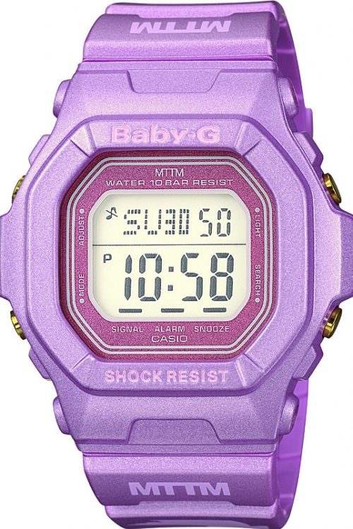 Image of  			   			  			   			  Casio Baby-G Married To The Mob Edition WATCH BG-5600MOB-4ER