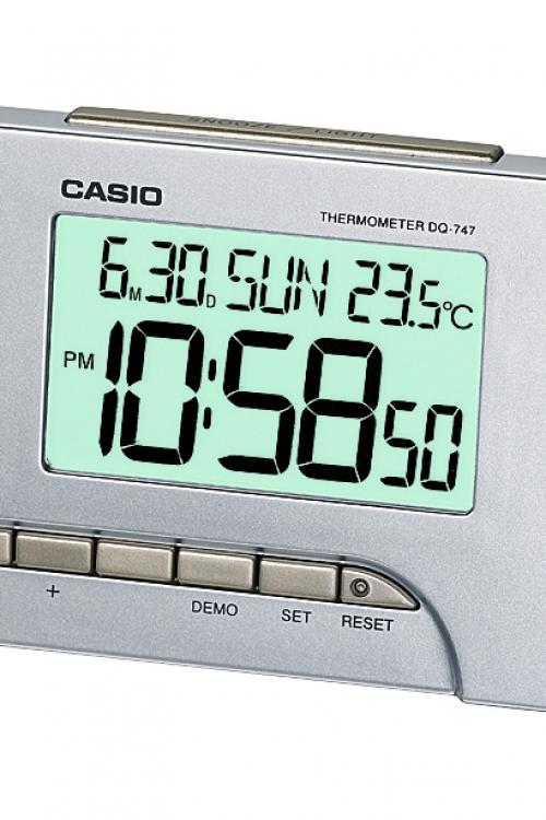 Image of            Casio Alarm Clock DQ-747-8EF
