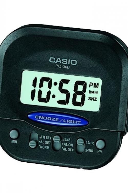 Image of            Casio Bedside Alarm Clock PQ-30B-1EF