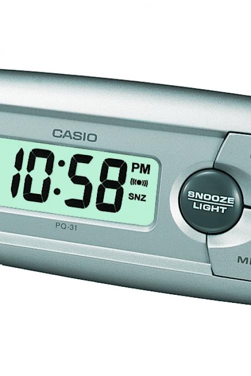 Image of            Casio Bedside Alarm Clock PQ-31-8EF