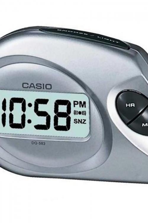 Image of            Casio Bedside Alarm Clock DQ-583-8EF