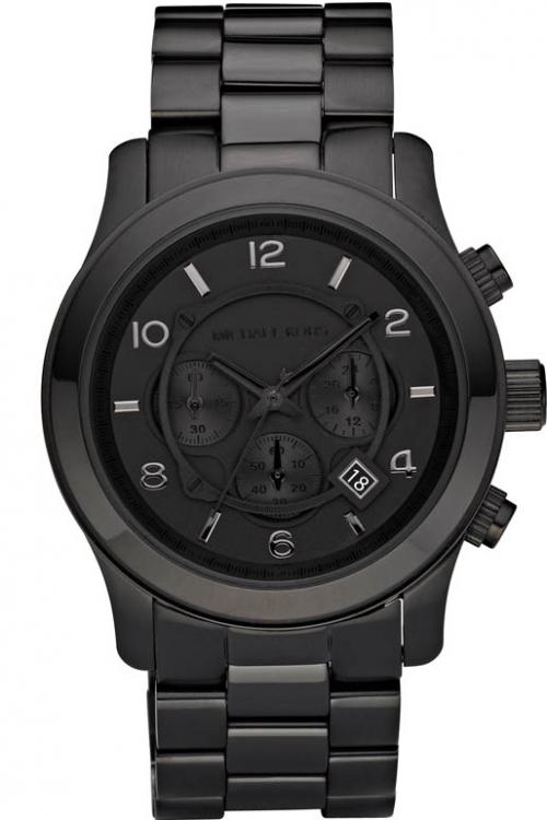 abc39609e28 Mens Michael Kors Runway Chronograph Watch MK8157 - Female First Shopping
