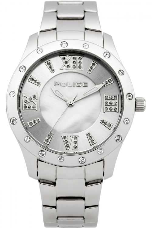 Image of  			   			  			   			  Ladies Police Chic Watch 13086BS/28M