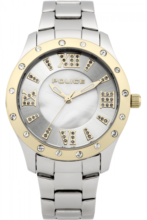 Image of  			   			  			   			  Ladies Police Chic Watch 13086BST/28M