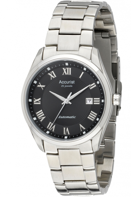 Mens Accurist Pure Precision Classic Collection Automatic Watch MB916B