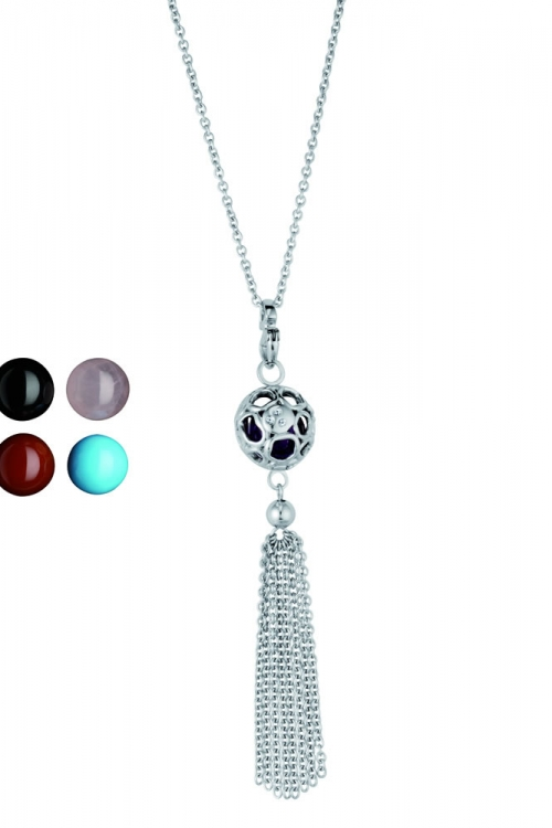 Hot Diamonds Bali Tassle Necklace JEWEL DN068
