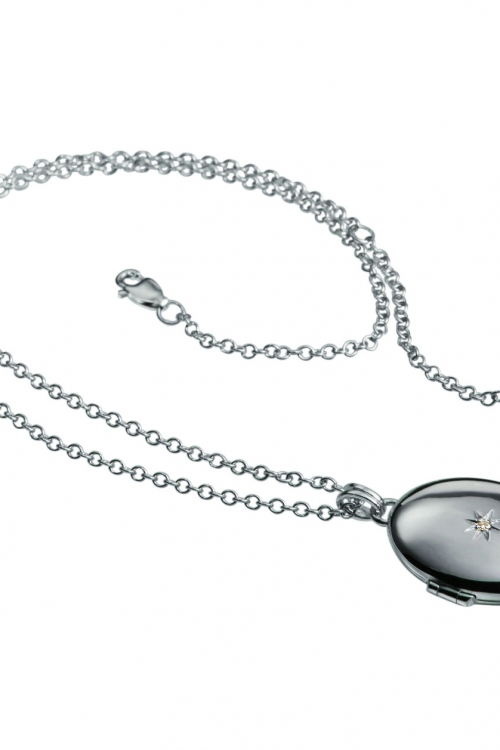 Image of            Hot Diamonds Inheritance Locket Pendant JEWEL DP143