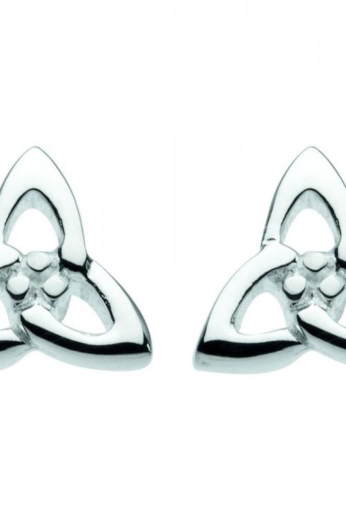 Heritage Celtic Interlinked Trilogy Stud Earrings JEWEL 42004HP001