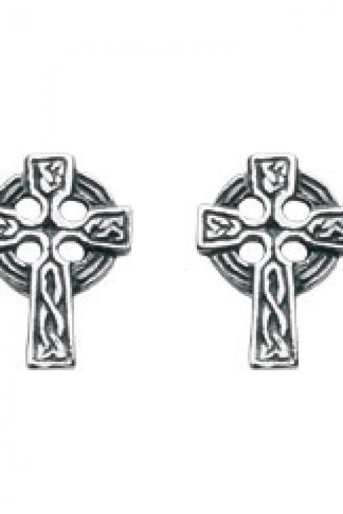 Heritage Celtic St Pk 4 Cross Stud Earring JEWEL 4279HP