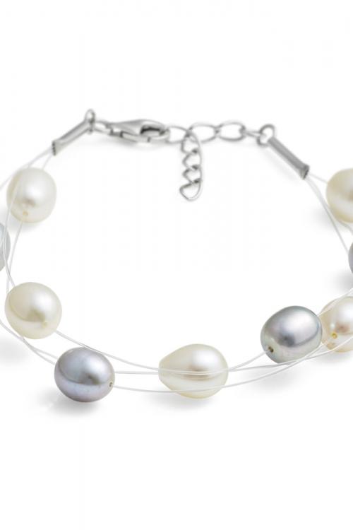 Jersey Pearl Dewdrop Pearl Bracelet JEWEL MELP-B-SW