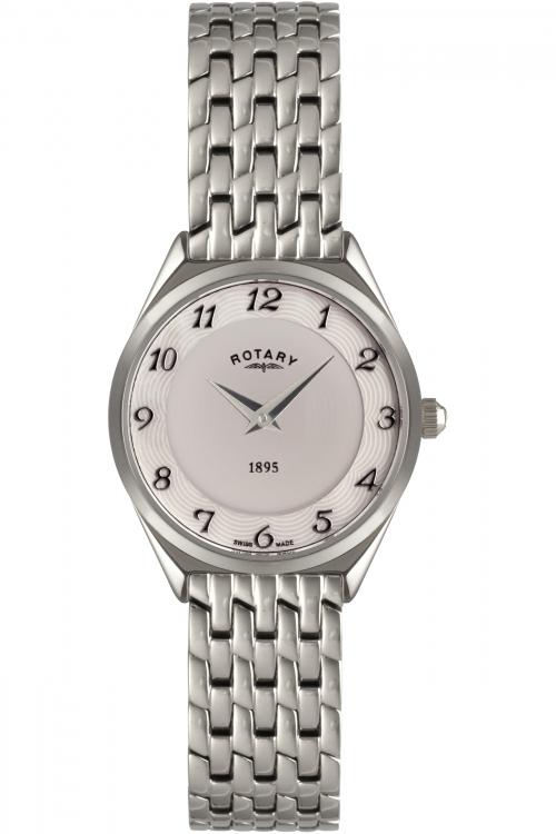 Image of            Ladies Rotary Ultra Slim Watch LB08000/18