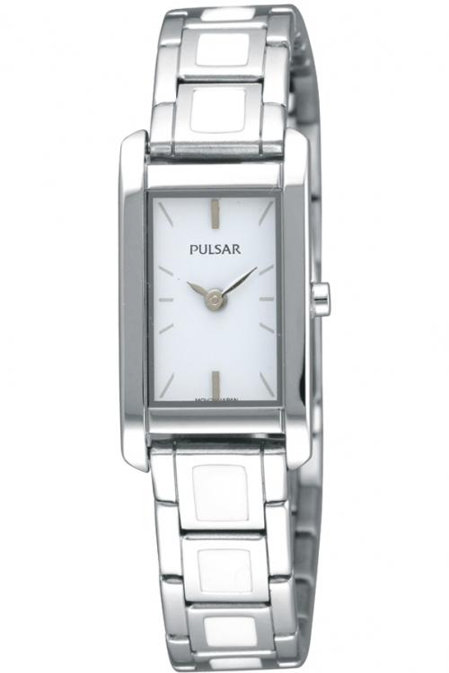 Image of            Ladies Pulsar Ceramic Watch PEGF37X1