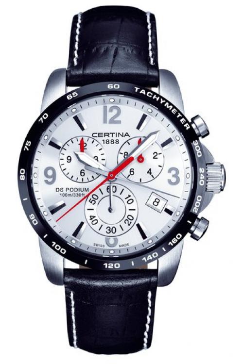 Mens Certina DS Podium Big Chrono Chronograph Watch C0016172603700