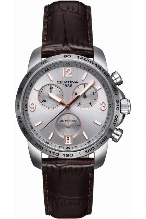 Mens Certina DS Podium Chronograph Watch C0014171603701