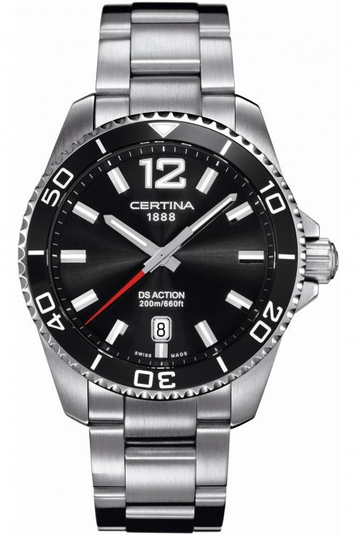 Mens Certina DS Action Diver Watch C0134101105700