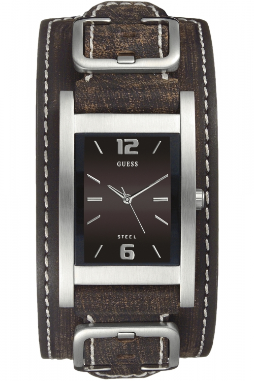 Mens Guess Buckle Up Watch I70571G2