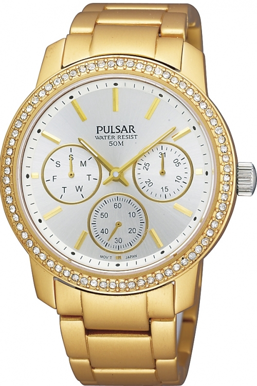 Image of  			   			  			   			  Ladies Pulsar Chronograph Watch PP6038X1
