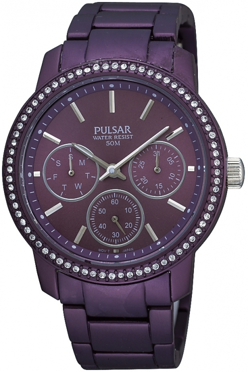 Image of  			   			  			   			  Ladies Pulsar Chronograph Watch PP6041X1