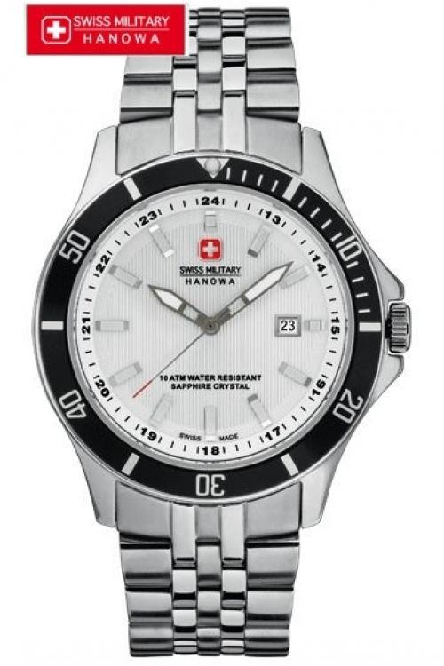 Image of            Mens Swiss Military Hanowa Flagship Watch 6-5161.7.04.001.07