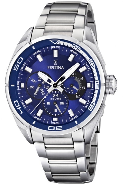 Mens Festina Chronograph Watch F16608/4