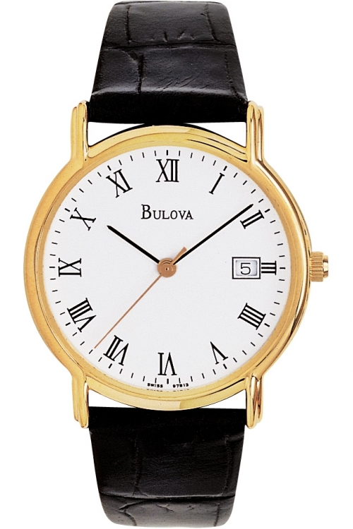 Mens Bulova Dress Exclusive Watch 97B13