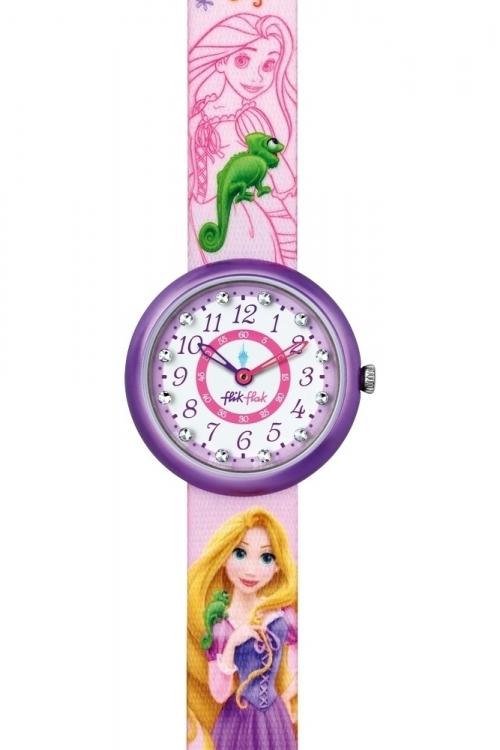 flik flak disney princess summer palace rapunzel watch fln048