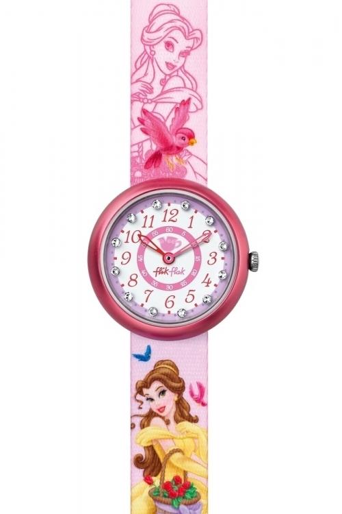 flik flak disney princess summer palace belle watch fln049