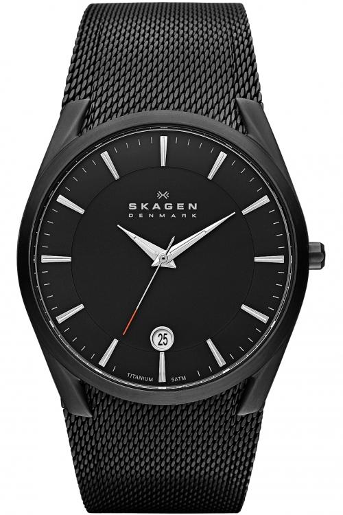 Mens Skagen Aktiv Titanium Watch SKW6009