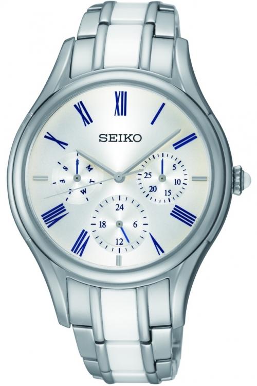 Image of            Ladies Seiko Ceramic Watch SKY721P1