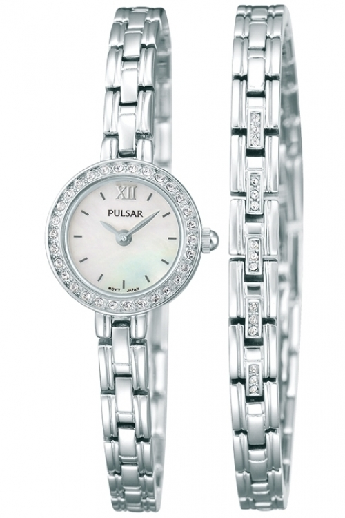 Image of  			   			  			   			  Ladies Pulsar Gift Set Watch PEGG51X2