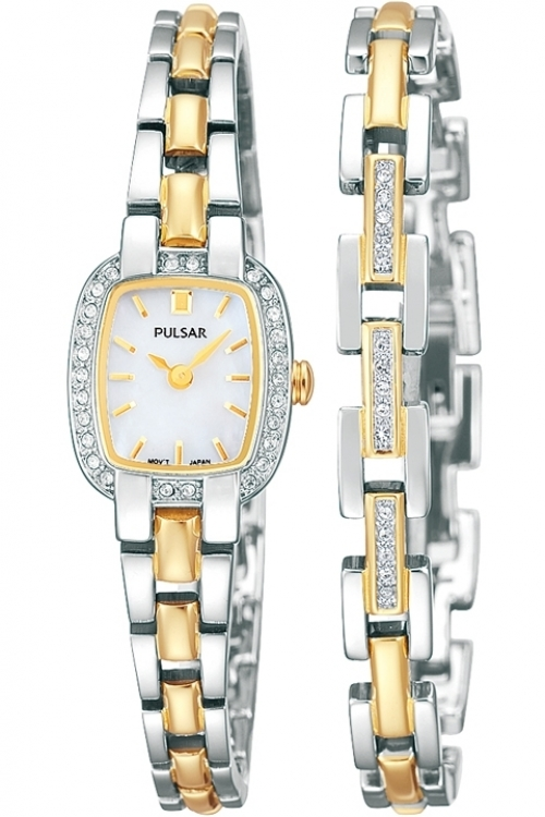 Image of  			   			  			   			  Ladies Pulsar Gift Set Watch PEGG43X2