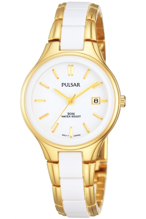 Image of  			   			  			   			  Ladies Pulsar Ceramic Watch PH7268X1
