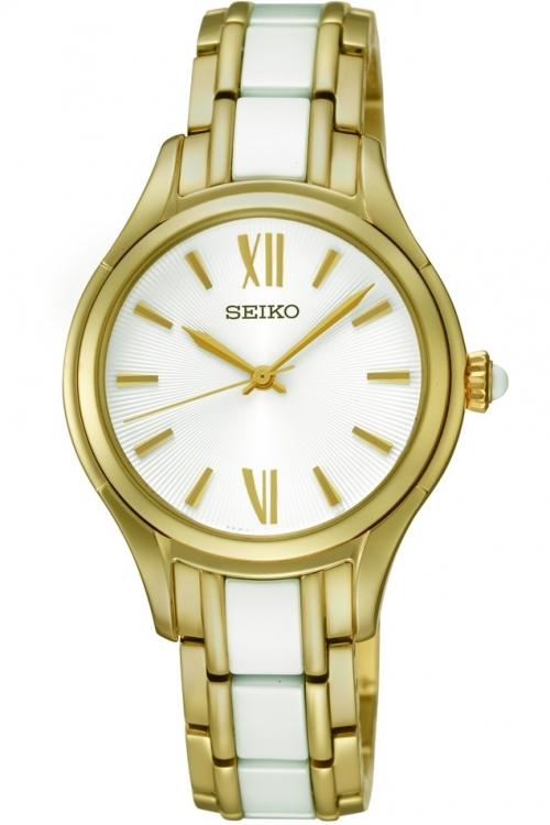 Image of Ladies Seiko Ceramic Watch SRZ398P1