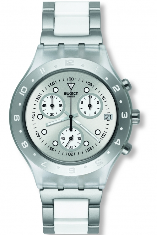 Image of            Ladies Swatch Astyanax Chronograph Watch