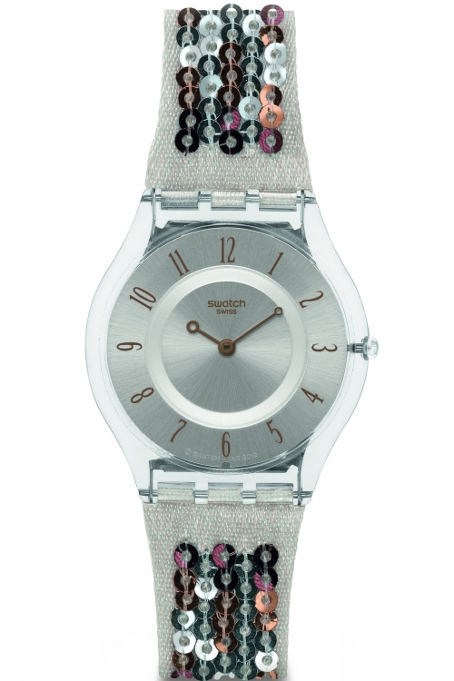 Image of            Ladies Swatch Absolute Glam Watch