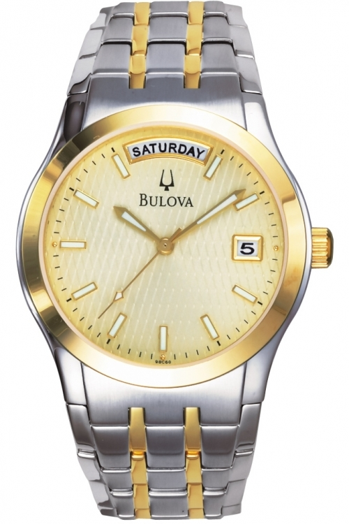 Mens Bulova Watch 98C60