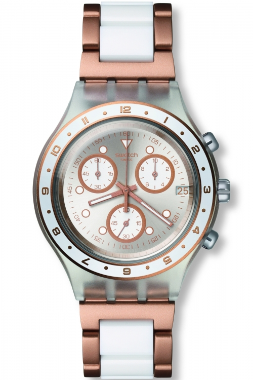 Unisex Swatch Hat Trick Chronograph Watch SVCK4080AG