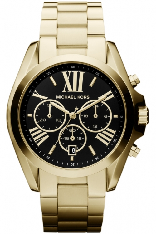 Image of  			   			  			   			  Ladies Michael Kors Bradshaw Chronograph Watch MK5739