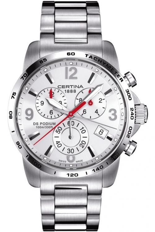 Mens Certina DS Podium Big Chrono Chronograph Watch C0016171103700