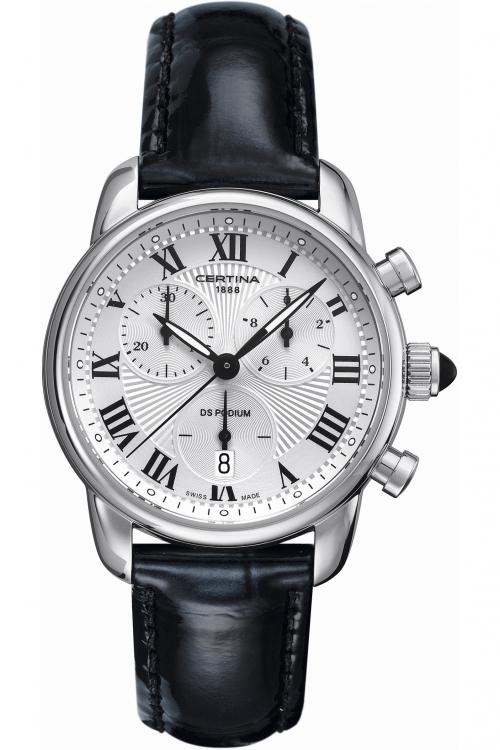 Ladies Certina DS Podium Chronograph Watch C0252171601800