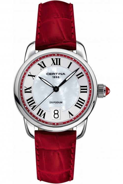 Ladies Certina DS Podium Watch C0252101642800