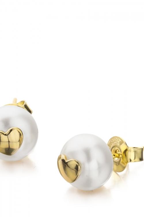 Shimla Jewellery Heart Fresh Water Pearl Earrings JEWEL SH615