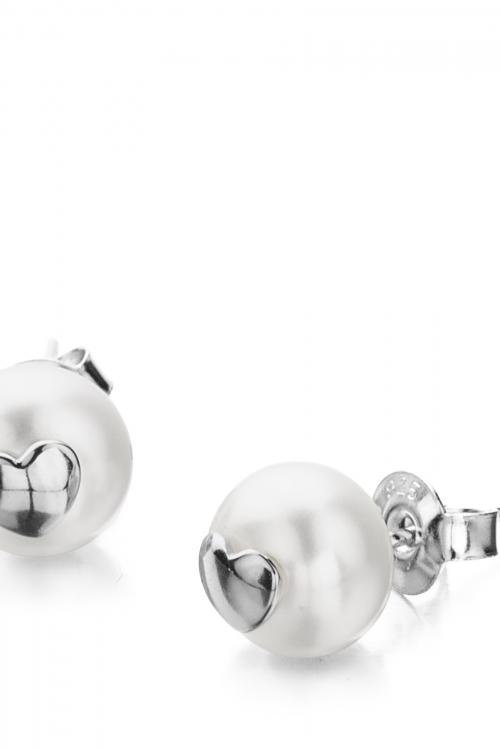 Shimla Jewellery Heart Fresh Water Pearl Earrings JEWEL SH617