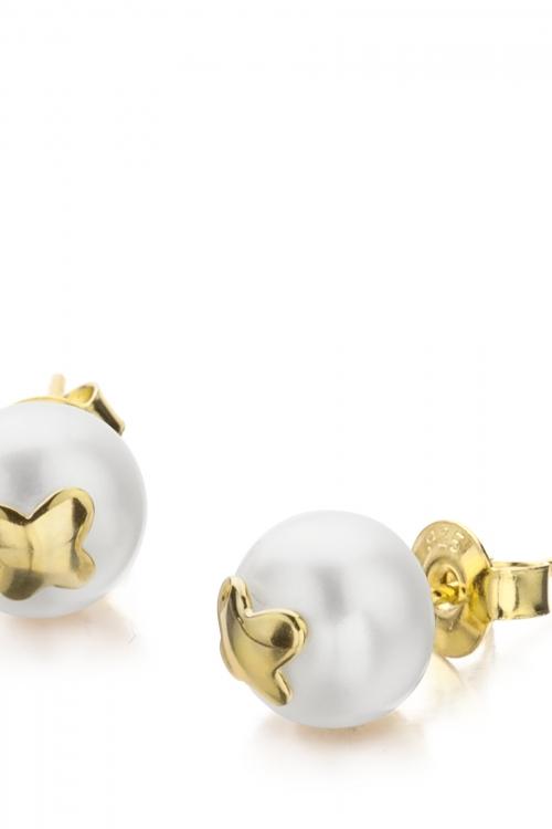 Shimla Jewellery Butterfly Fresh Water Pearl Earrings JEWEL SH618