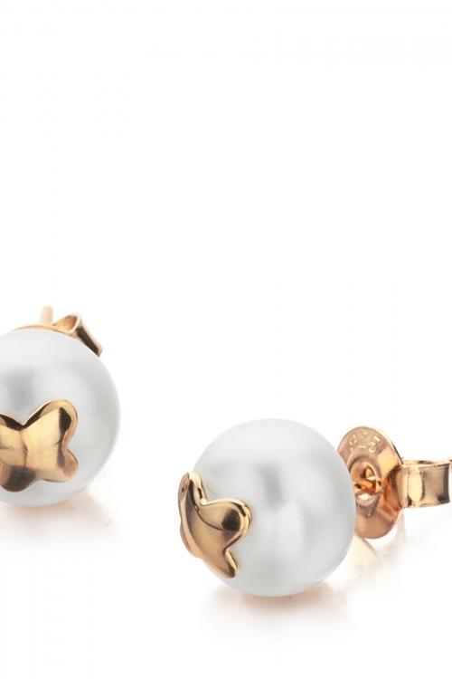 Shimla Jewellery Butterfly Fresh Water Pearl Earrings JEWEL SH619