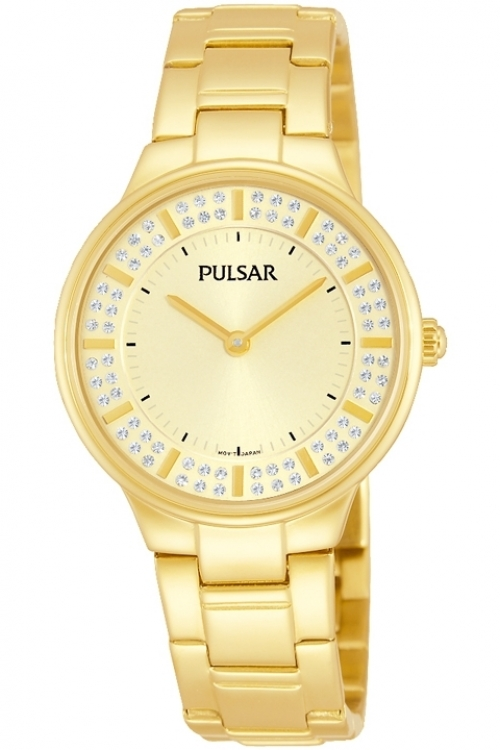 Image of  			   			  			   			  Ladies Pulsar Dress Watch PM2090X1