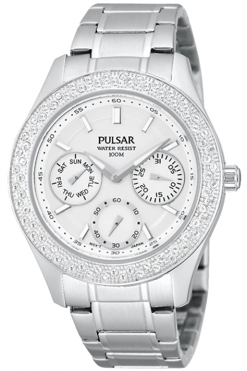 Image of  			   			  			   			  Ladies Pulsar Dress Watch PP6117X1