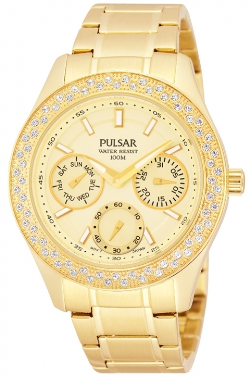 Image of  			   			  			   			  Ladies Pulsar Dress Watch PP6118X1